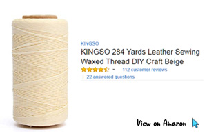 Popular Waxed Linen Thread on Amazon