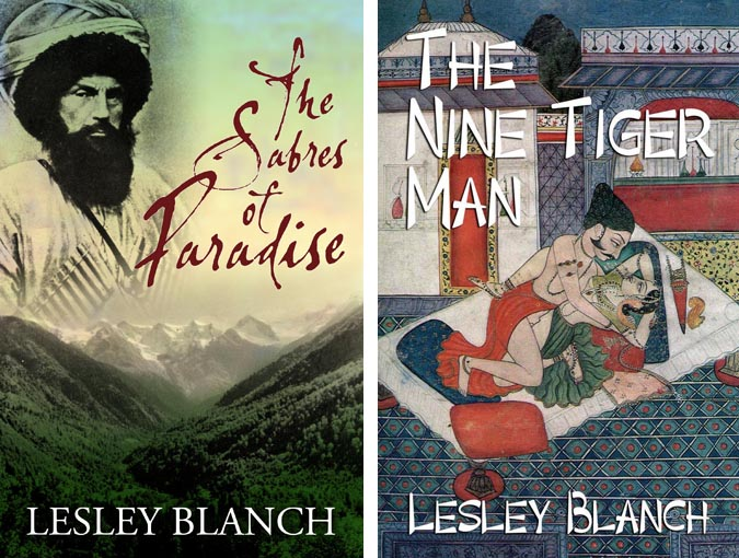 Two perfect his 'n' hers reads by Lesley Blanch