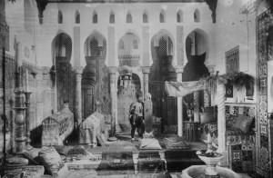 Pierre Loti's mosque in Rochefort
