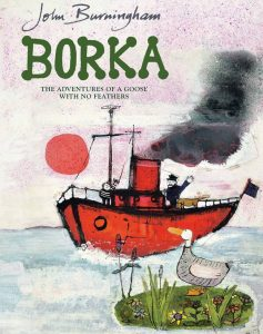 borka the goose john burningham bookblast marketing