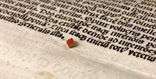 World's smallest book