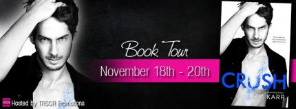 crush book tour
