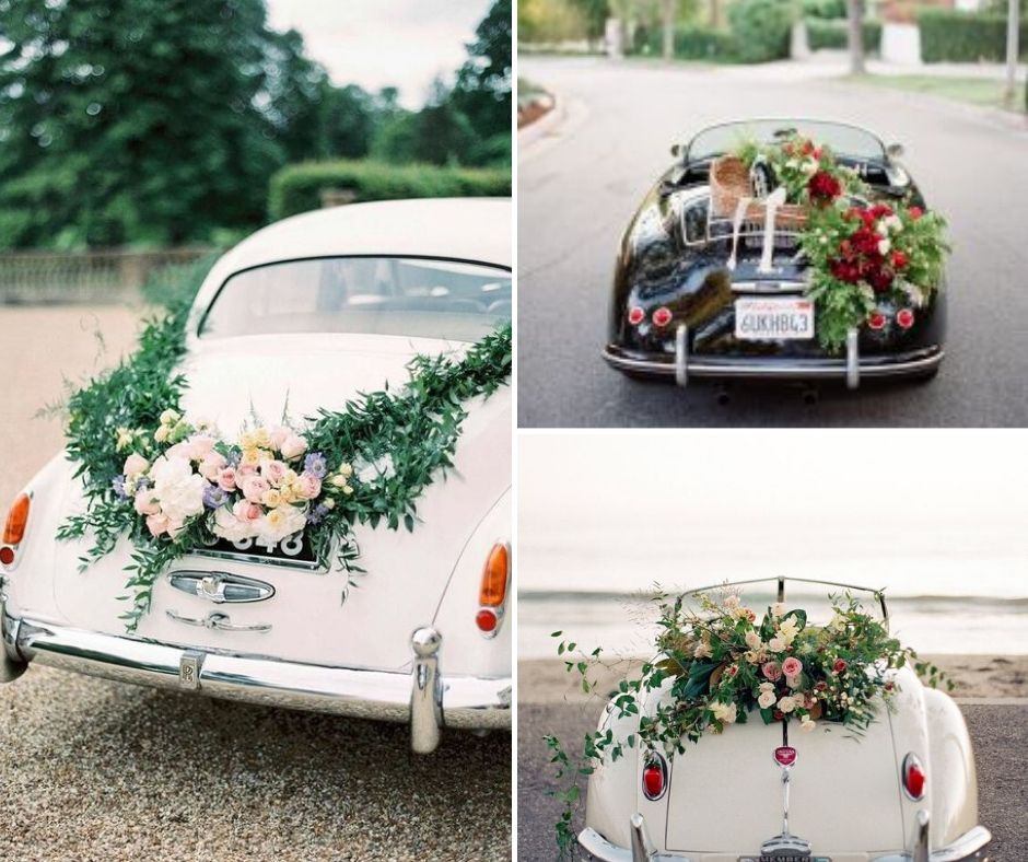 Just married! Here are the best car decoration ideas this ...