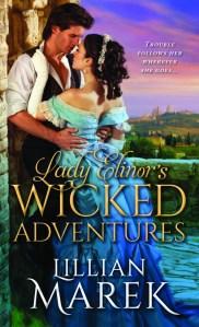 Giveaway Interview Lady Elinor's Wicked Adventures by Lillian Marek @sourcebookscasa