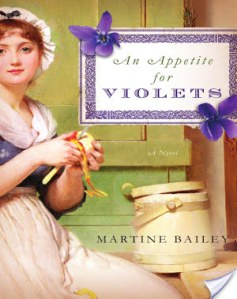 #Giveaway AN APPETITE FOR VIOLETS by MARTINE BAILEY @MartineBailey @StMartinsPress