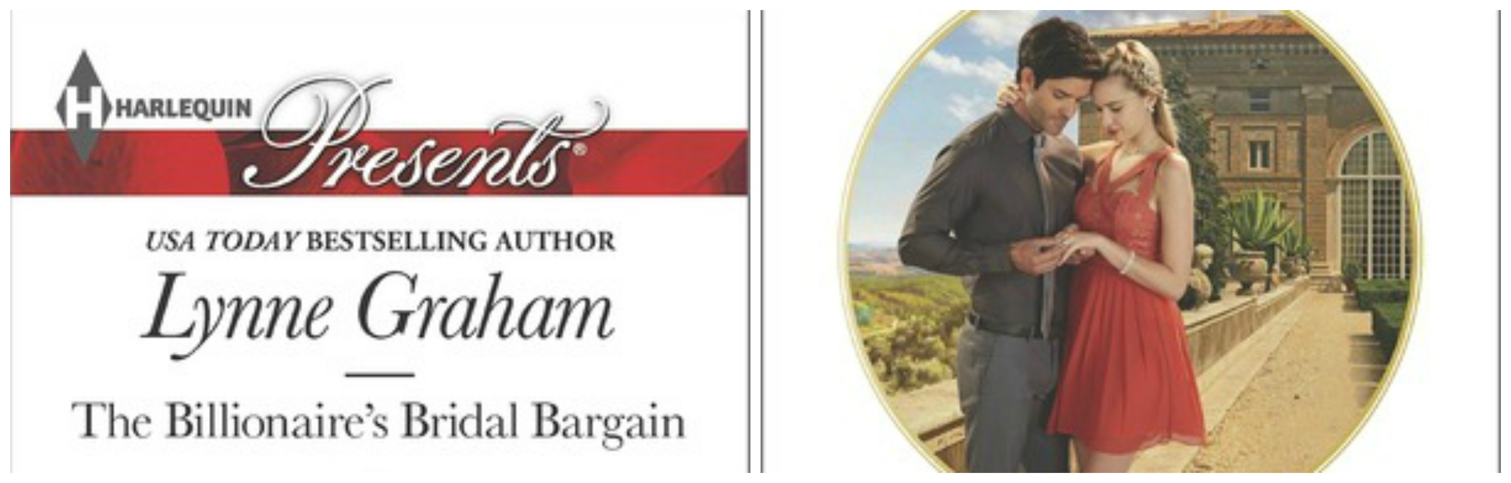 #Giveaway THE BILLIONAIRE'S BRIDAL BARGAIN by LYNNE GRAHAM @lynne__graham  @HarlequinBooks