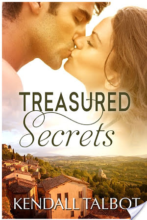 #Giveaway Interview TREASURED SECRETS by KENDALL TALBOT @KendallBooks @EscapePublisher #woof