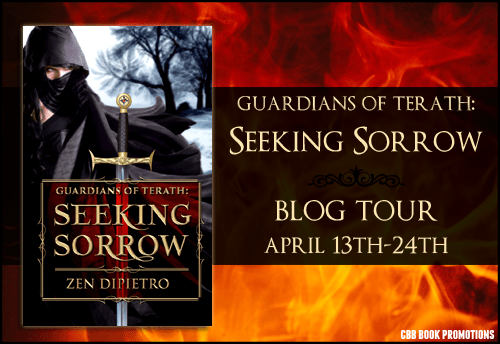 $10 #Giveaway Interview Guardians of Terath: Seeking Sorrow by Zen DiPietro @ZenDiPietro #meow