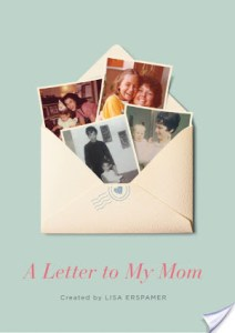 #Giveaway Review A LETTER TO MY MOM by Lisa Erspamer @lisaerspamer @CrownPublishing