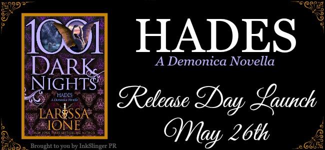 Release Day Blast HADES by LARISSA IONE @LarissaIone