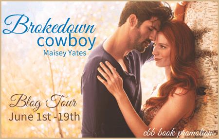 #Giveaway Review BROKEDOWN COWBOY by MAISEY YATES @MaiseyYates @HQNBooks