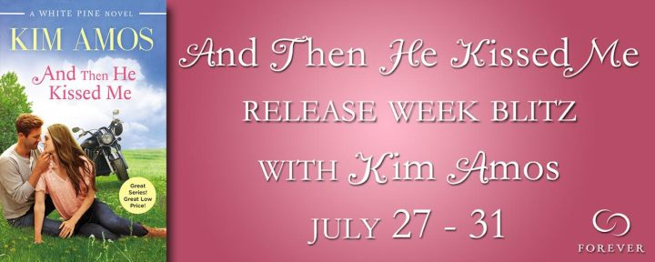 #Giveaway Excerpt AND THEN HE KISSED ME by KIM AMOS @KimAmosWrites @ForeverRomance
