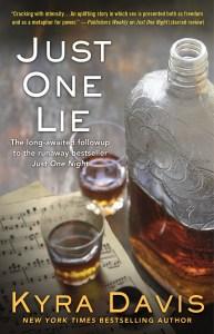 #Review JUST ONE LIE by Kyra Davis @_KyraDavis @PocketBooks #MercysChoice