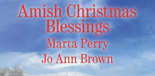 #Giveaway Bon Appétit and a Book: Amish Christmas Blessings by Marta Perry, Jo Ann Brown 11.25
