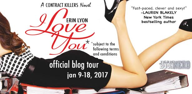 #Giveaway I Love You Subject to the Following Terms and Conditions by Erin Lyons @WritingLyon @torbooks 1.23