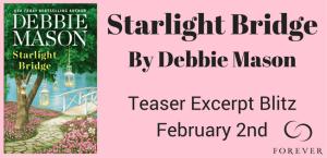 #Giveaway Excerpt STARLIGHT BRIDGE by Debbie Mason @AuthorDebMason @ForeverRomance 2.11