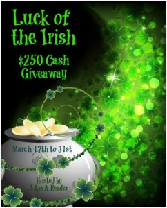LUCK OF THE IRISH  $250 #Giveaway 3.31