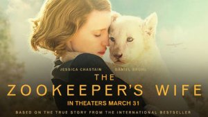#Giveaway THE ZOOKEEPER'S WIFE Movie @Zookeepers @FocusFeatures