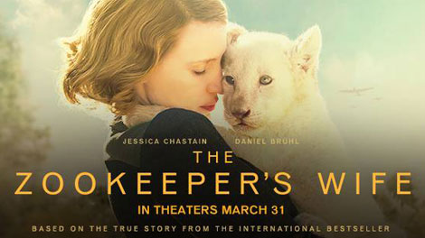 Interview DIANE ACKERMAN and THE ZOOKEEPER'S WIFE MOVIE @FocusFeature @DianeAckerman #TheZooKeepersWife