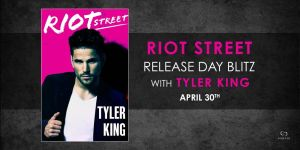#Giveaway Excerpt RIOT STREET by Tyler Kind spondored by @ForeverRomance