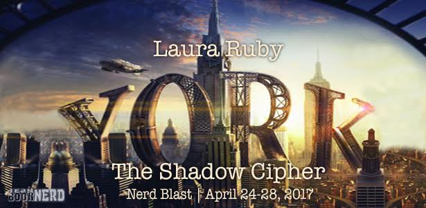 #Giveaway YORK: THE SHADOW CIPHER by Laura Ruby @thatlauraruby @WaldenPondPress 5.8