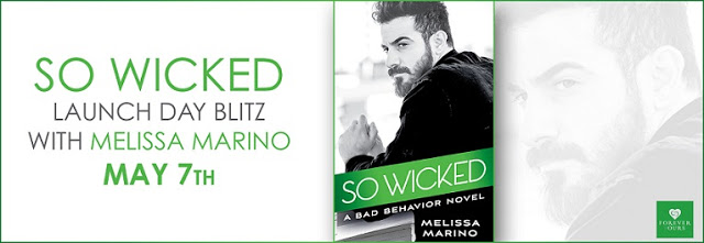 #Giveaway SO WICKED by Melissa Marino sponsored by @ForeverRomance 5.22