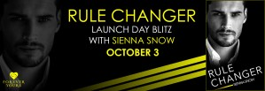 #Giveaway Excerpt RULE CHANGER by Sienna Snow @authorsiennasnow @ForeverRomance 10.17