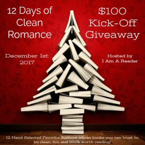 $100 #Giveaway 12 Days of Clean Romance (INT) Ends 12.17