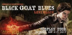 #Giveaway Excerpt BLACK GOAT BLUES by Levi Black @JamesTuckwriter @TorBooks
