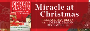 #Giveaway Miracle at Christmas by Debbie Mason @AuthorDebMason @ForeverRomance Ends 1.2