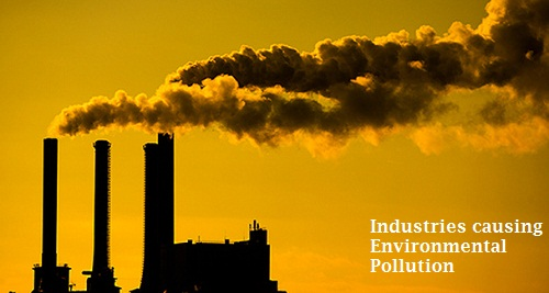 Pollution by industries