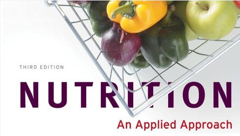 Nutrition an applied approach 4th edition pdf