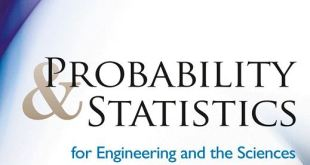Probability and Statistsics for Engineering and the Sciences 9th edition