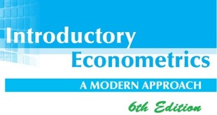 Introductory Econometrics A modern Approach Wooldridge.