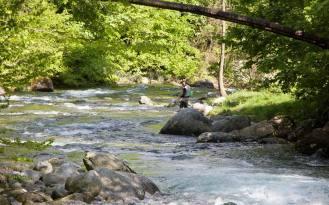 Pescare nel cuore del Parco naturale del Marguareis
