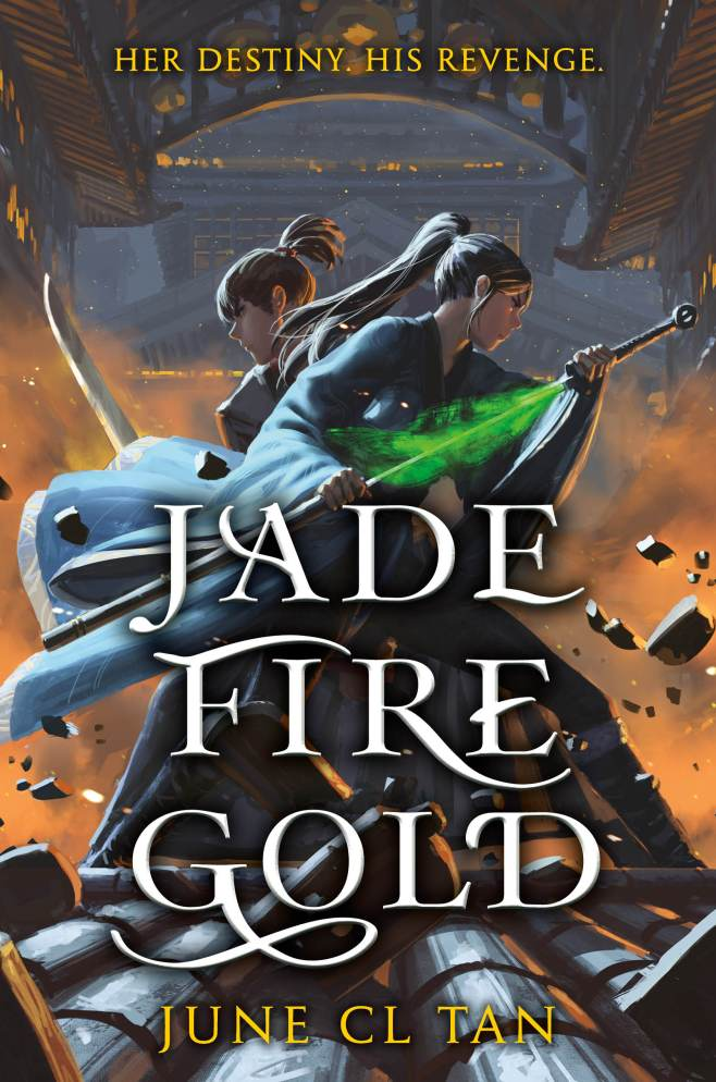 Jade Fire Gold by June CLTan TBR & Beyond ● Review+Giveaway!!