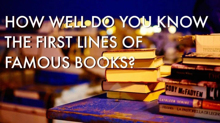 The Bookish Elf Quiz - Guess the book from its opening Lines.