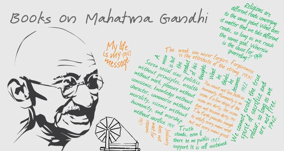 6 Best Books on Mahatma Gandhi Ever Written