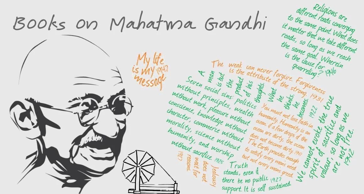 6 Best Books on Mahatma Gandhi Ever Written