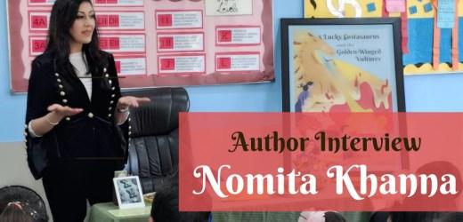 Author Interview: Nomita Khanna