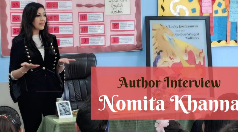 Author Interview - Nomita Khanna
