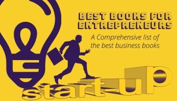 Best Books for Entrepreneurs - List of the best books for business and startups