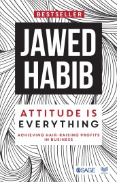 Book Review- Attitude is everything by Jawed Habib