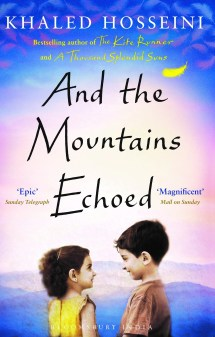 Book Review - And the Mountains Echoed by Khaled Hosseini