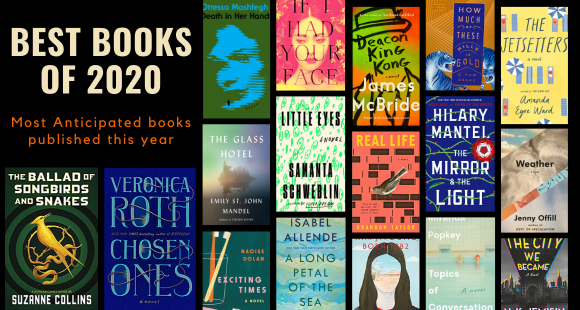 The Most anticipated books published in 2020 so far…