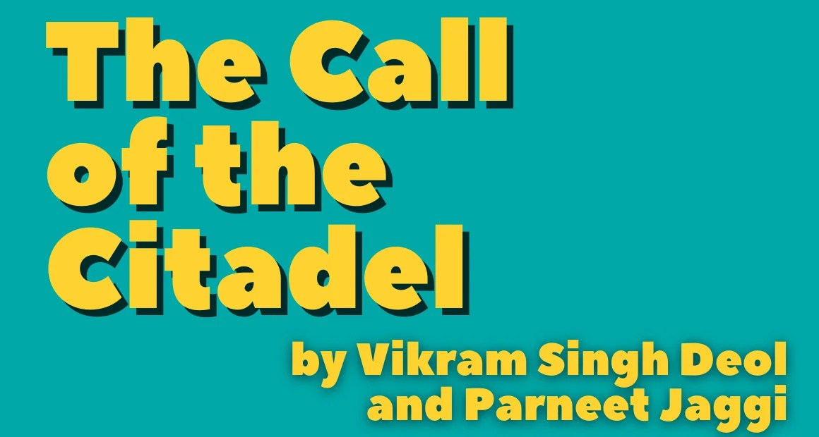 Book Review: The Call of the Citadel by Vikram Singh Deol and Parneet Jaggi