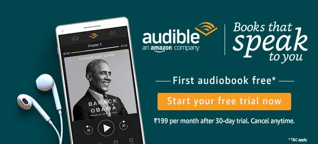 Amazon Audible - The best app for Audio books