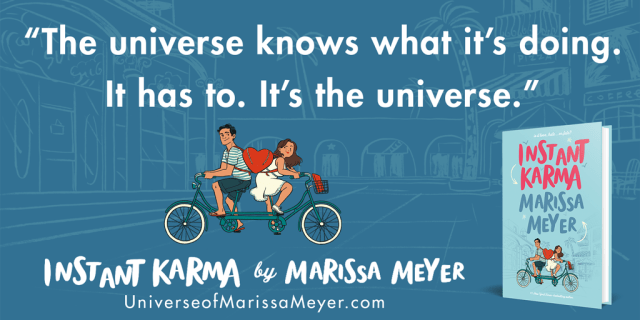 Quote from Instant Karma by Marissa Meyer