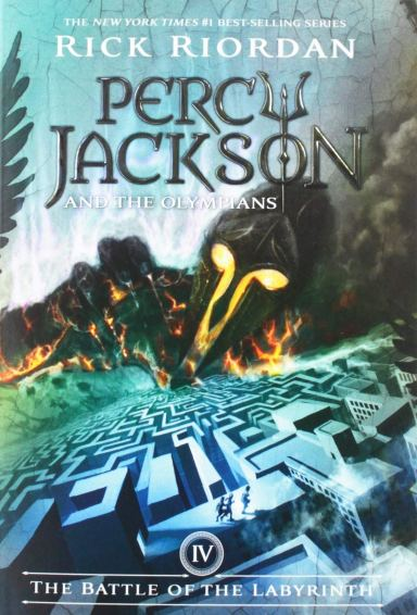 Cover of Percy Jackson And The Olympians: The Battle of the Labryinth
