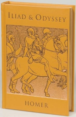 Cover of the mythology book Iliad & Odyssey